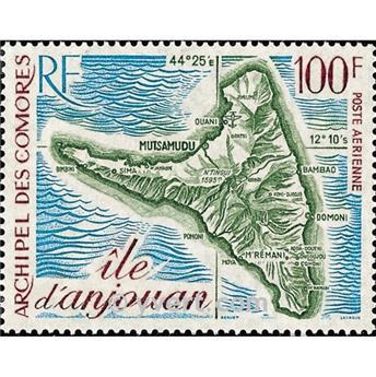 n.o 49 -  Sello Comoras Correo aéreo
