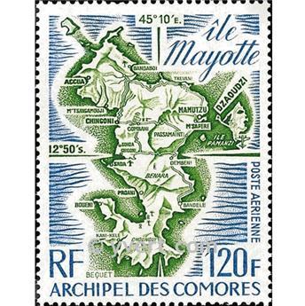 n° 61 -  Timbre Comores Poste aérienne