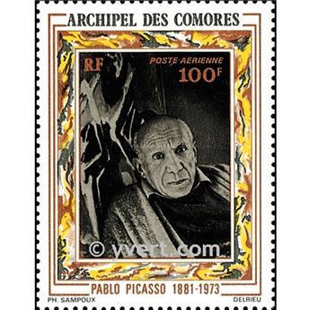 n° 1 -  Selo Comores Blocos e folhinhas