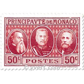 n° 111/113 -  Selo Mónaco Correios