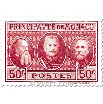 n° 111/113 -  Timbre Monaco Poste