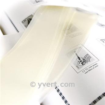 Tiras soldura simples -  64 mm (Fundo transparente)