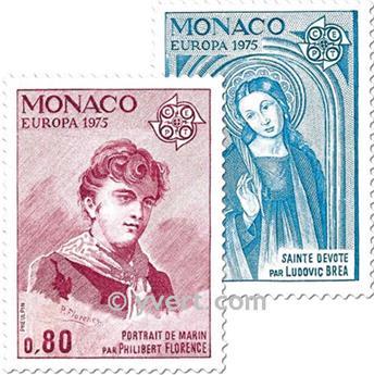 n.o 1003/1004 -  Sello Mónaco Correos