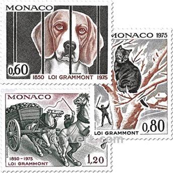 n.o 1031/1033 -  Sello Mónaco Correos