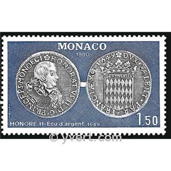 n° 1231 -  Timbre Monaco Poste