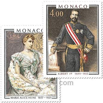 n.o 1245/1246 -  Sello Mónaco Correos
