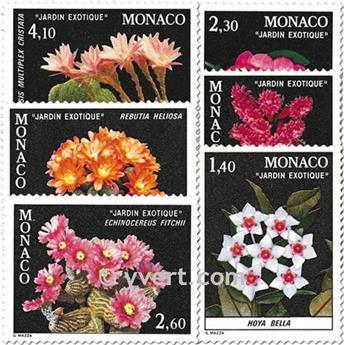 n° 1306/1311 -  Selo Mónaco Correios