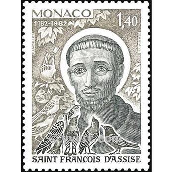 n.o 1332 -  Sello Mónaco Correos