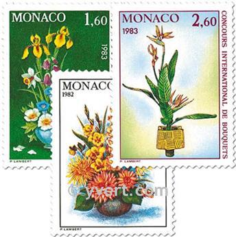 n° 1349/1351 -  Timbre Monaco Poste