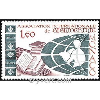 n.o 1358 -  Sello Mónaco Correos