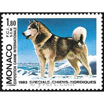 n° 1367 -  Timbre Monaco Poste