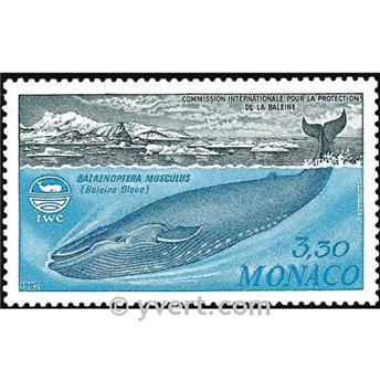n° 1372 -  Timbre Monaco Poste