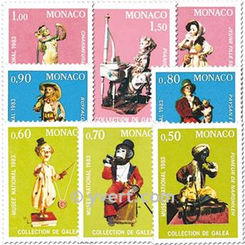 nr. 1377/1384 -  Stamp Monaco Mail