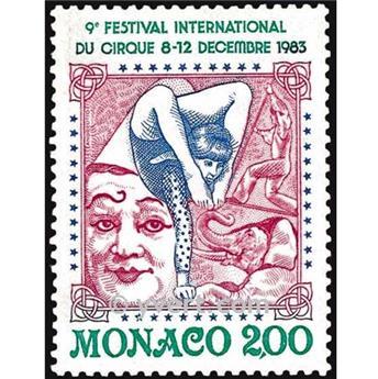 n° 1397 -  Timbre Monaco Poste