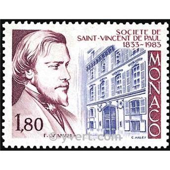 n° 1402 -  Timbre Monaco Poste