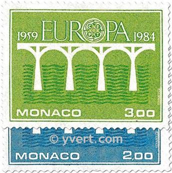 n° 1418/1419 -  Timbre Monaco Poste