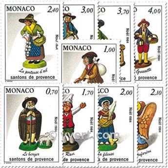 n° 1437/1445 -  Timbre Monaco Poste