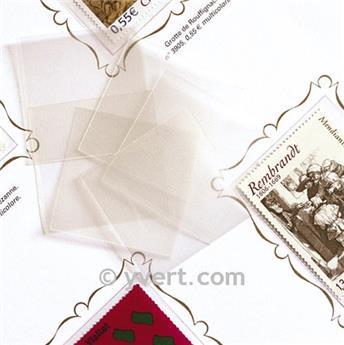 Protetores soldura simples -  LxA: 31 x 42 mm (Fundo transparente)