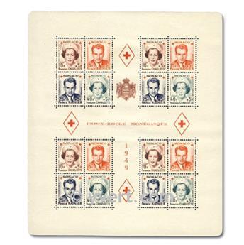 nr. 3A -  Stamp Monaco Souvenir sheets