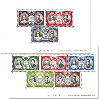 nr. 5/6 -  Stamp Monaco Souvenir sheets
