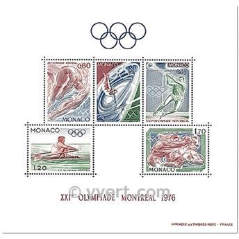 nr. 11 -  Stamp Monaco Souvenir sheets