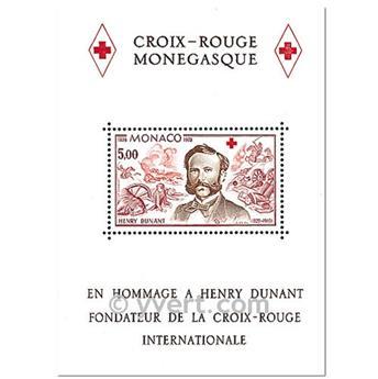 n° 15 -  Timbre Monaco Bloc et feuillets