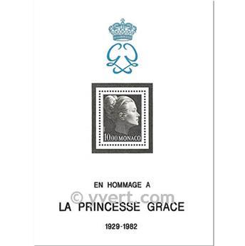 n° 24 -  Timbre Monaco Bloc et feuillets