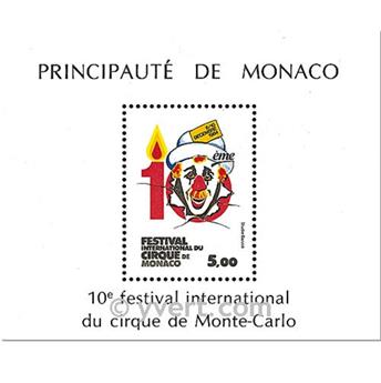 n° 29 -  Timbre Monaco Bloc et feuillets