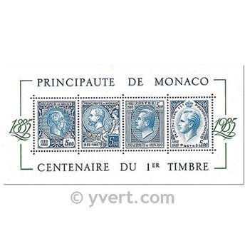 n.o 33 -  Sello Mónaco Bloque y hojitas