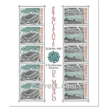n.o 37 -  Sello Mónaco Bloque y hojitas