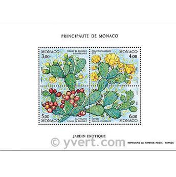 n.o 55 -  Sello Mónaco Bloque y hojitas