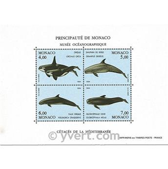 nr. 64 -  Stamp Monaco Souvenir sheets