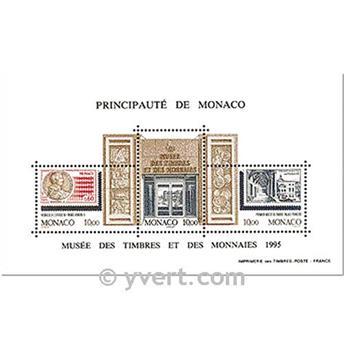 nr. 69 -  Stamp Monaco Souvenir sheets