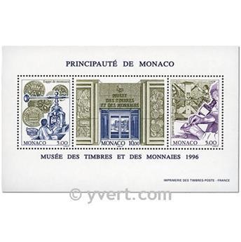 n.o 73 -  Sello Mónaco Bloque y hojitas