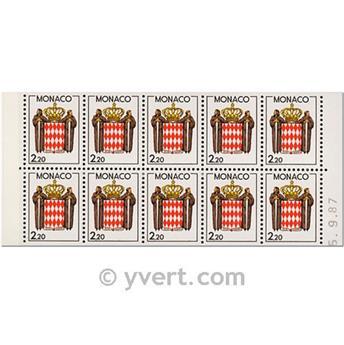 n° 1 -  Timbre Monaco Carnets