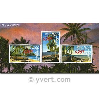 n.o 2 -  Sello Mayotte Bloques y hojitas