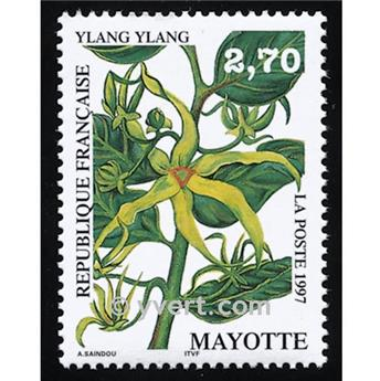 n° 42 -  Timbre Mayotte Poste