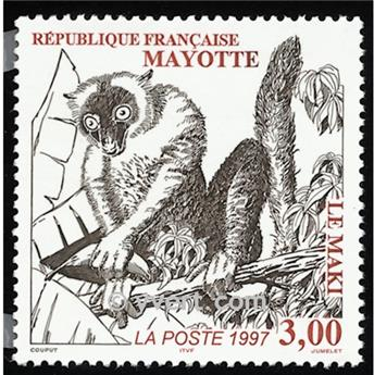 n.o 46 -  Sello Mayotte Correos