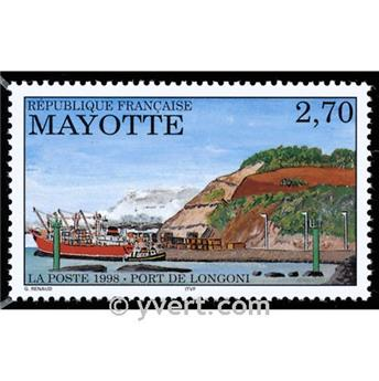 n° 53 -  Timbre Mayotte Poste