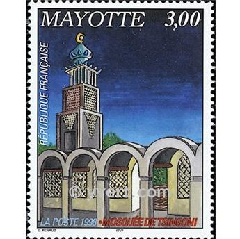 n.o 57 -  Sello Mayotte Correos