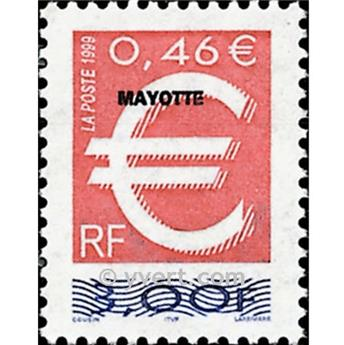 n.o 77 -  Sello Mayotte Correos
