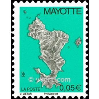 n.o 158a -  Sello Mayotte Correos