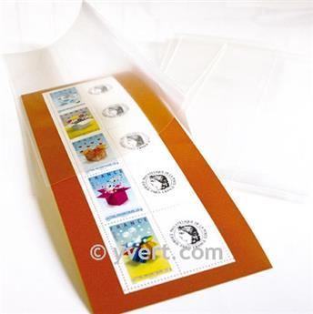 Filoestuches doble costura - AnchoxAlto: 186 x 245 mm (Fondo transparente)