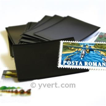 Pochettes double soudure - Lxh:210x95.3mm (Fond noir)