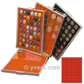 MEDAL CASE: 80 COMPARTMENTS