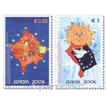 nr. 43/44 -  Stamp Kosovo - UN interim administration Mail