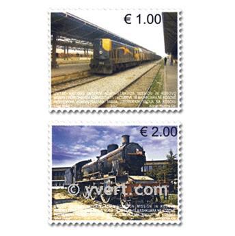 nr. 90/91 -  Stamp Kosovo - UN interim administration Mail