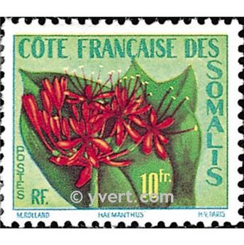 n.o 290 -  Sello Somalia francesa Correos