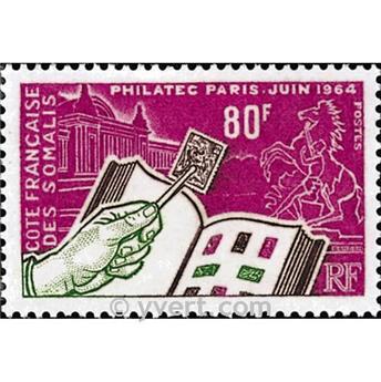 n.o 319 -  Sello Somalia francesa Correos
