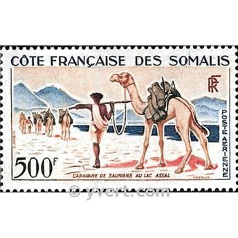 n° 29 -  Timbre Cote des Somalis Poste aérienne